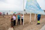 """Die """"Anti-Tabak Fahne wird gehisst. Foto: Rathaus Mazarrón"""